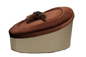 Brown and Beige Baby Bean Bag - Snuggle Seat
