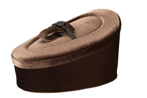 Brown and Taupe Baby Bean Bag - Snuggle Seat
