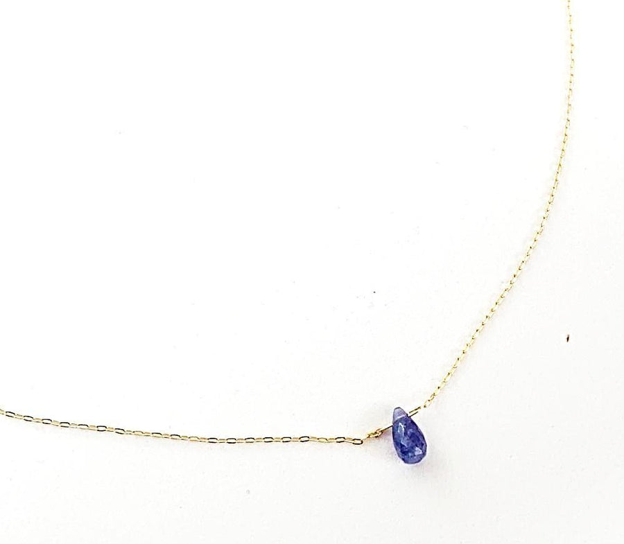 Tanzanite Dream Drop Necklace
