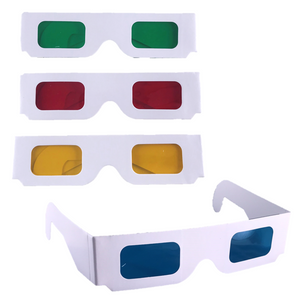 Coloured Overlay Glasses - Assorted Pack of 4