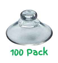 Load image into Gallery viewer, Pack of 100 - 20mm Round Button Suction Cups