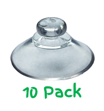 Load image into Gallery viewer, Pack of 10 - 20mm Round Button Suction Cups