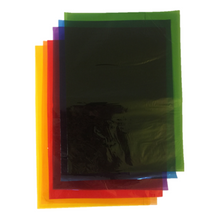 Load image into Gallery viewer, Pack of 48 Sheets - A5 Coloured Cellophane