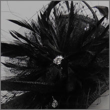 Load image into Gallery viewer, Formal Event Mini Disc Flower Fascinator