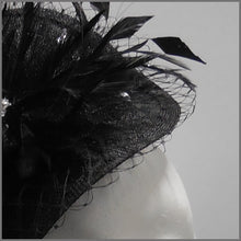 Load image into Gallery viewer, Ladies Day Mini Disc Flower Fascinator