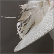 Load image into Gallery viewer, Hatinator for Ladies day in White & Oyster