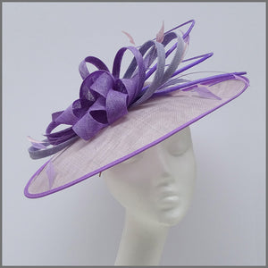 Lilac & Lavender Hatinator for Mother of the Bride