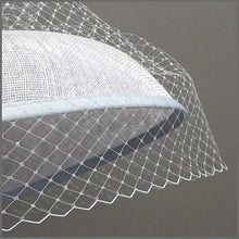Load image into Gallery viewer, Derby Day Hat in Silver Grey & Navy