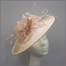 Load image into Gallery viewer, Race Day Ladies Hatinator in Blush Nude