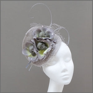Unique Skull Head Fascinator Costume Accessory for Halloween Party