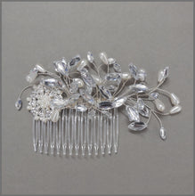 Load image into Gallery viewer, Vintage Style Bridal Wedding Hair Comb Slide