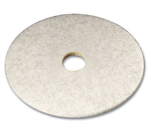 "(Spec.ord) 3M series 3300 19"" white high speed burnishing pad"
