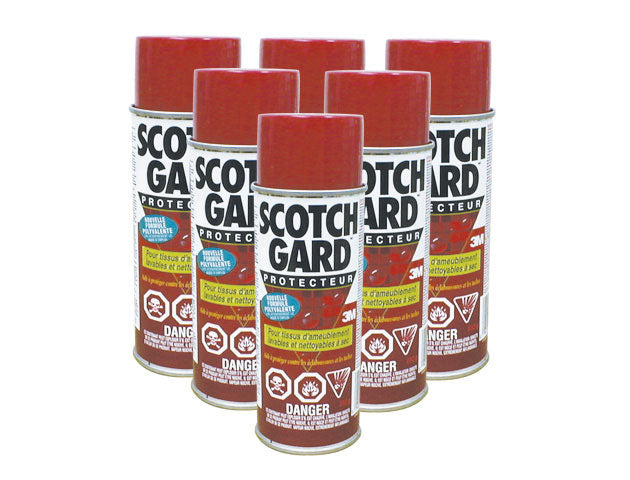 3M SCOTCHGARD carpet and fabric protector
