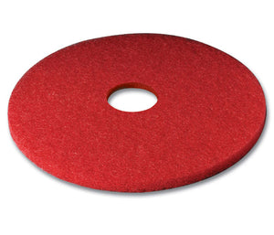 "3M series 5100 17"" red low speed (wet/dry) burnishing pad"
