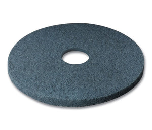 "3M series 5300 19"" bleu wet floor washing pad"