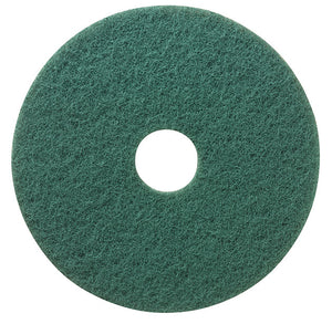 "(Niagara)3M series 5400 18"" green wet floor washing pad"