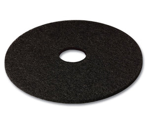 "(Niagara) 3M(high prod.) 19"" black low speed scouring pad"