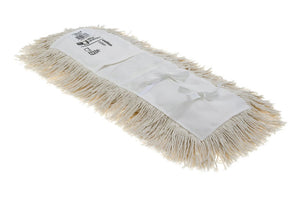 "Cotton white dry dust mop (5""x24"") Universal"