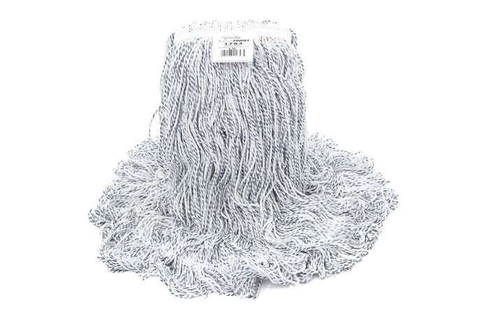 Synthetic wet mop 20 oz narrow band looped  end