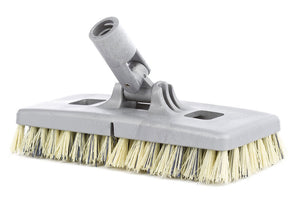 All purpose swivel scrubbing brush