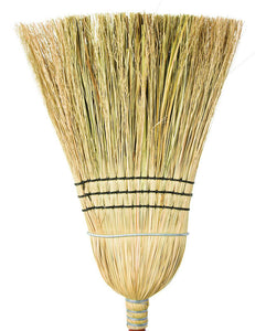 "Corn broom cane center 48"" 3 strings 1 wire"