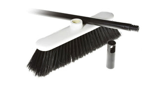 "SWEEP EZY broom 11""x5"" handle 48"""