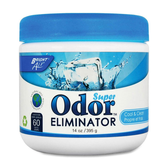 Cool & clean scent super odor eliminator