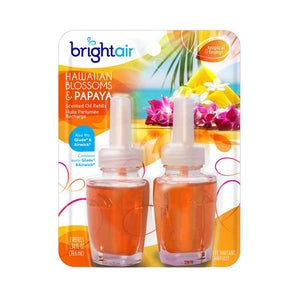 Elect. Scented Air Freshner Refill (2) Hawaiian & Papaya