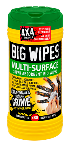BIG WIPES MULTI-SURFACE   4X4 Formula