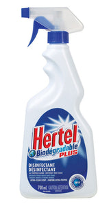 (08520) HERTEL PLUS desinfectant cleaner  700 ML