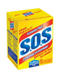 S.O.S steel wool soap pads  50 ct