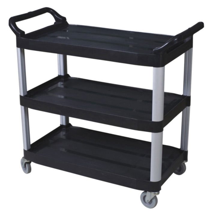 Small utility cart-open sides BLACK  38.375