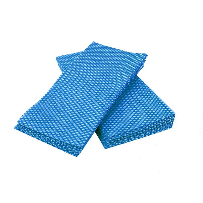 DURA PLUS LUXURY blue/white foodservice towel