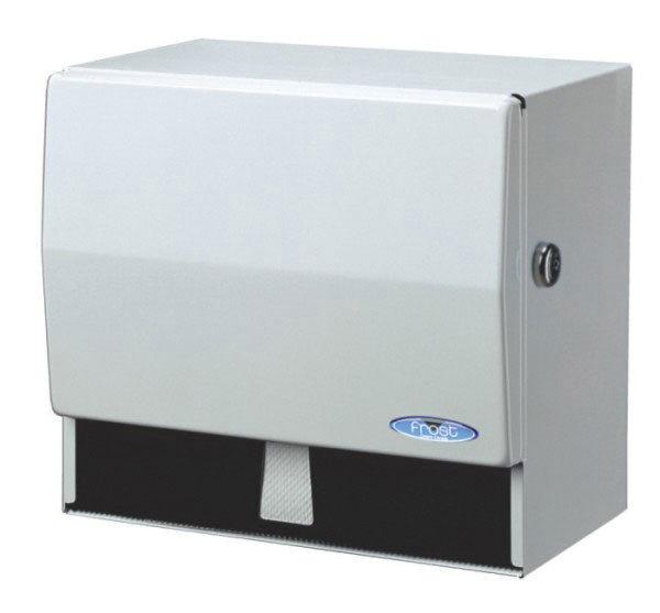 Universal paper/towel disp. with key  10.5