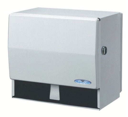 Universal jumbo paper/towel disp. with key  10.5