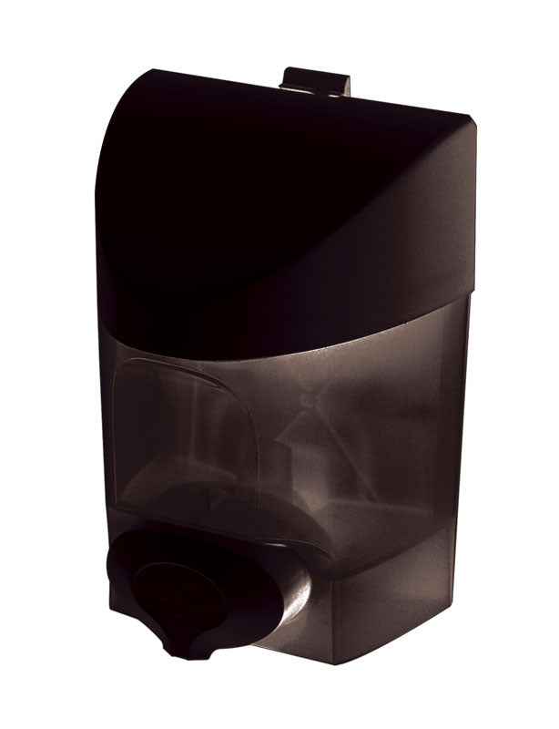 Push button hand soap dispenser 30 oz.plastic black