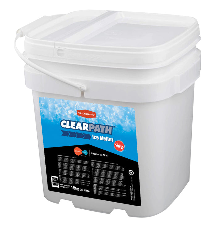 18Kg PAIL *CLEARPATH* ice melter  DURA PLUS