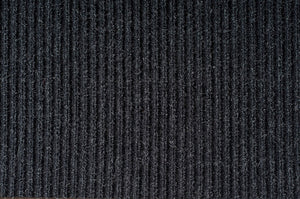 Double ribbed mat 3' X 10'  charcoal