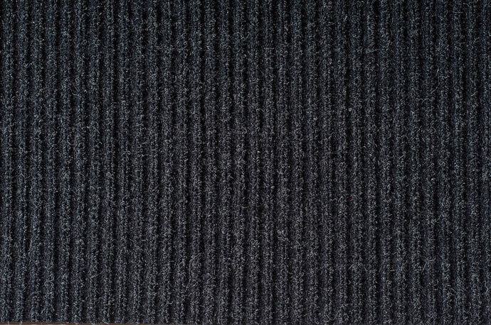 Double ribbed mat 4' X 6' charcoal