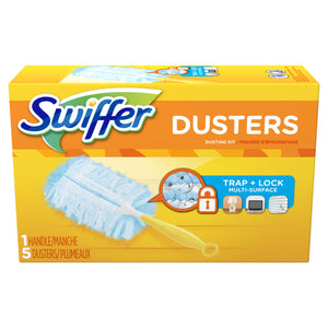 SWIFFER duster kit (1 handle + 5 refills)