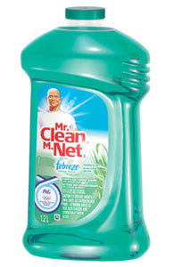 MR.CLEAN all purpose cleaner with Febreze (meadows & rain scent)1.2L