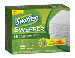 (MTL only) CS/12 X 16  SWIFFER  DRY CLOTH REFILLS