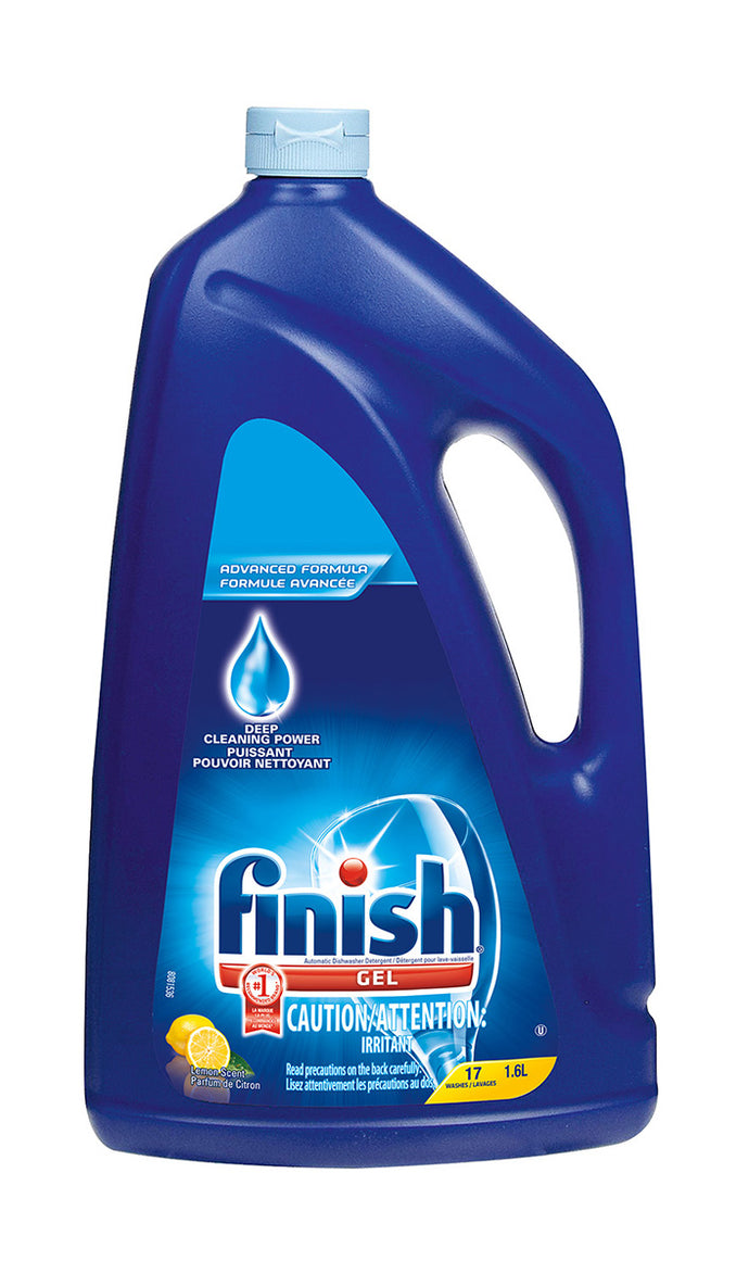Finish Dishwashing Gel Lemon Scent