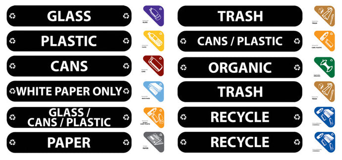 (spec.ord*8*)RECYCLING LABEL KIT