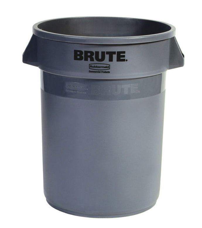 Brute round container 20 GAL gray 19 1/2