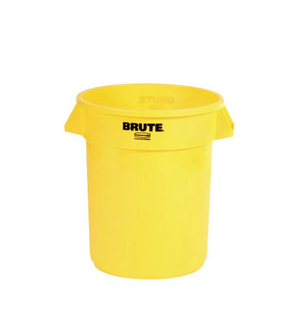 (spec.ord*6*) Brute round container 20 GAL yellow 19 1/2