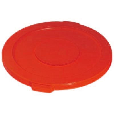 (spec.ord*6*) Lid for 32 GAL brute container 2632 red 22 1/4