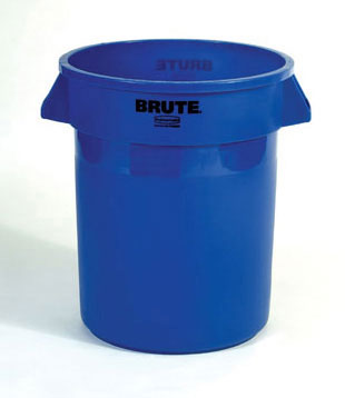 (spec.ord*6*) Brute round container 32 GAL blue 22