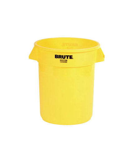 (spec.ord*6*) Brute round container 32 GAL yellow 22