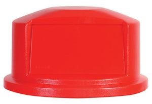 "(spec.ord) Dome lid for container RU2632 red 22 11/16""x12 1/4""H"